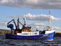trawl sweep vessel